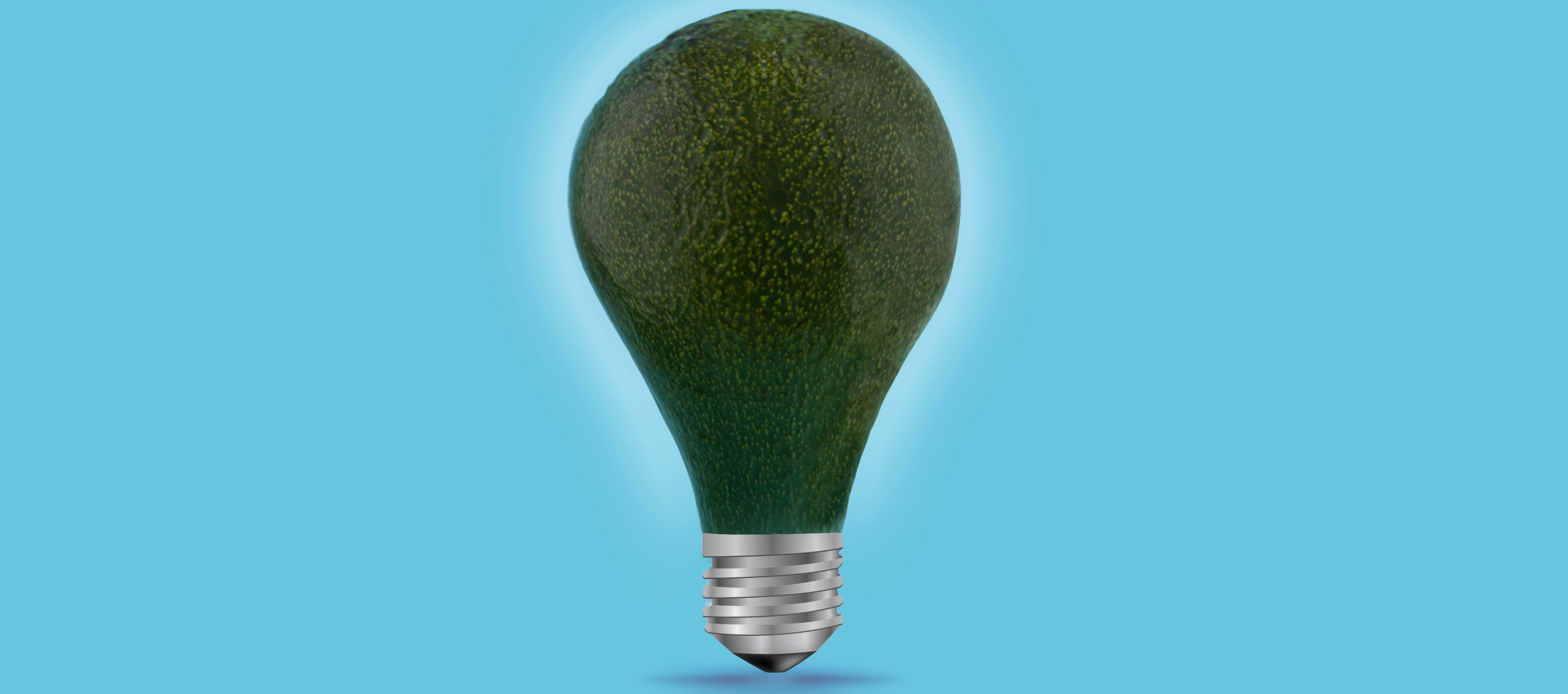 Masca hidratanta din avocado