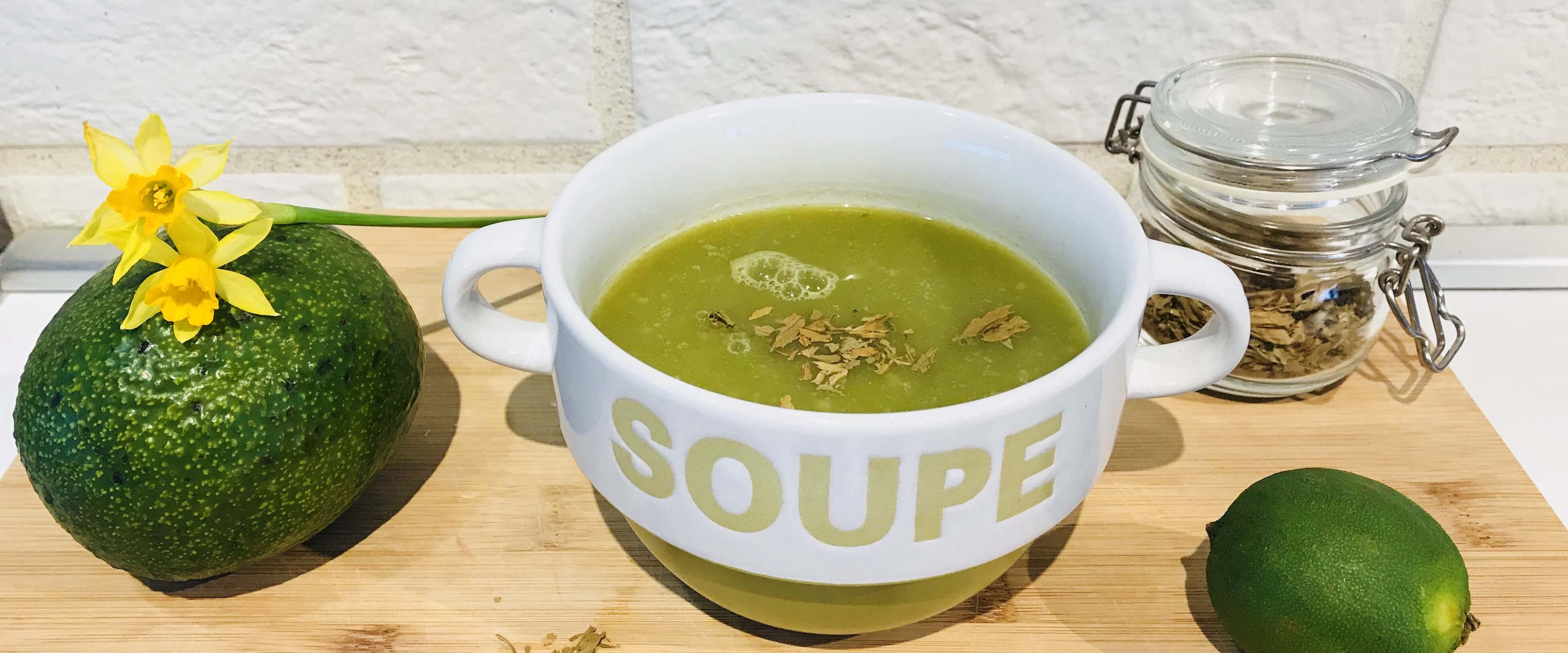 Supa crema de leurda